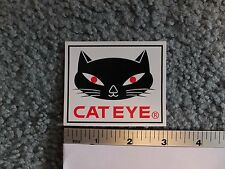 "3""  CATEYE Cat Eye Bike Mountain Road Tri Fat Bicycle Ride STICKER DECAL"