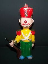 Vintage Toy Soldier with Rifle Christmas Ornament 4.5""