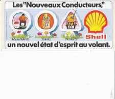 AUTOCOLLANT  SHELL *LES NOUVEAUX CONDUCTEURS*