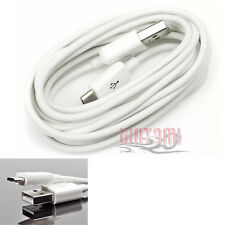 10FT MICRO USB DATA CHARGER CABLE WHITE NOKIA LUMIA 920 LG OPTIMUS G PRO L9 G2