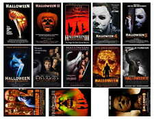 HALLOWEEN MOVIE POSTERS,  PHOTO-FRIDG MAGNETS