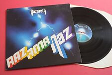 Nazareth Razamanaz Mooncrest 1st UK STEREO PRESS LP 1973