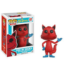 Funko POP! Books - Dr. Seuss Series 1 Vinyl Figure - FOX IN SOCKS - New in Box