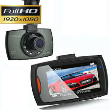 HD 1080P Car Camera Dash Cam Video Recorder 2.7'' Crash G-sensor Night Vision