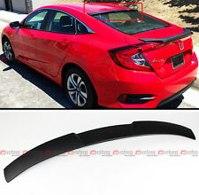 JDM STYLE REAR WINDOW ROOF SPOILER WING FOR 2016-17 10TH GEN HONDA CIVIC X SEDAN