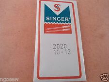 Genuine Singer 301A,401,401A,403,404,501,501A,99,99k Universal Needles 2020 #13