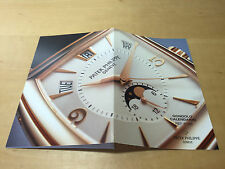 Booklet PATEK PHILIPPE New Model 2006 - Gondolo Calendario Ref. 5135