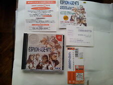 ESPION AGENTS JAP JAPANESE JP IMPORT JAPAN DC DREAMCAST VIDEOGAMES GAMES