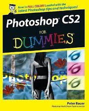 NEW Photoshop CS2 for Dummies by Peter Bauer Paperback Book (English) Free Shipp