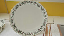 ? VINTAGE CHELSON CHINA DINNER / BREAD / CAKE PLATE ENAMELED FLORAL PATTERN