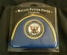 U.S. NAVY US Mallet Putter Golf Club Head Cover, Embroidered