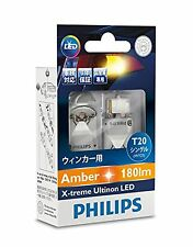 PHILIPS Extreme Arutinon LEDT20 Amber WY21 (T20) 12763x2 New F/S Japan