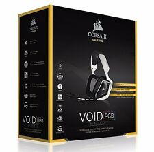 Corsair CA-9011145-NA Gaming VOID Wireless RGB Gaming Headset - White ✔NEW✔
