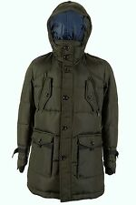Hugo Boss Olive Fitted Down Filled Warm Jacket Coat OJOVI-W 42 R 52 L