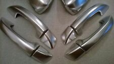 VW Satin Chrome Door Handle Covers!Passat Scirroco Golf MK6 & 7 Skoda Seat Leon!