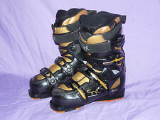 ROSSIGNOL Soft 2 Cockpit Women's Alpine Downhill Ski BOOTS size 23.5 279mm ✱ ✻