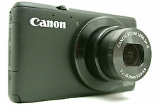 Canon Powershot S200 Point & Shoot digital camera *black *superb *tested