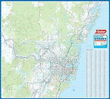 NEW Laminated Wall Maps - NSW Sydney Wall Map