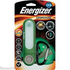 Energizer MULTI Use LIGHT Weatherproof LED Torch 51 Lumens 360° + Carabiner Clip