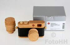 HANDMADE LEICA RANGFINDER REPLICA CRAFTED OUT OF WOOD WITH 2 LENSES