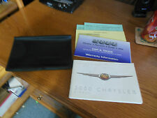 Used 2000 Chrysler Cirrus Oners Manual, Warrnty Info & Cover