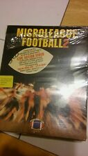 "Micro League Football new factory sealed PC game 5.25"" disks 1990"