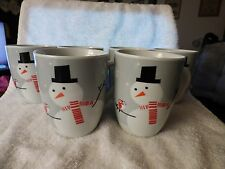 6 Cute 2012 Rachael Ray Xmas MUGS Little Hoot and Snowman Christmas Owl