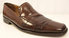 MEZLAN Loafers Shoes Men Size Jumbo 9-10 Italy Brown Slip-On Supper Prime 3