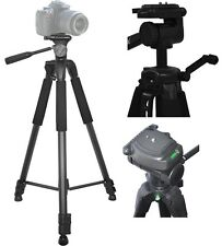 "75"" Professional Heavy Duty Tripod with Case for Canon Vixia HF R20 R21 R200"