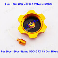 Fuel Tank Cap Cover Valve Breather For XR50 CRF50 SSR GPX Chinese Pit Dirt Bike