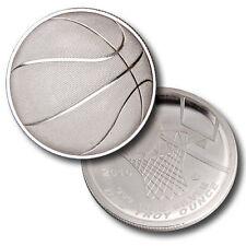 Stephen Curry 1 oz .999 Silver Basketball Curved Coin, NBA, NCAA, sports, Jordan