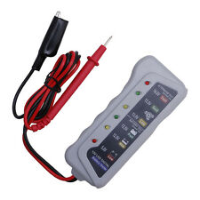 Quality Battery Tester Car Batter / Alternator Monitor Device 12V LED Display