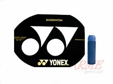 Yonex Badminton Racket Stencil and Blue Stencil Ink
