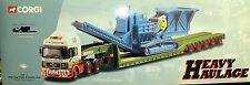 CORGI HEAVY HAULAGE MAN KING TRAILER & CRUSHER LOAD CADZOW CC12002