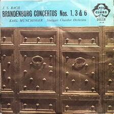 KARL MUNCHINGER bach brandenburg concertos vol 1 LP VG+ ACL 68 Decca UK
