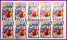 10 very rare Kool-Aid Red,White,Blue unsweetened Drink Mix Gluten Free