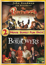 The Borrowers 2-Movie Family Fun Pack (DVD, 2014)