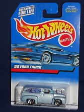 Hot Wheels 1999 First Editions 22/26 #927 '56 Ford Truck No FE Stripe Board