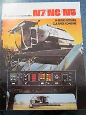 *1980* ALLIS-CHALMERS SALES CATALOG FOR THE N7/N6/N5 ROTARY GLEANER COMBINE!!