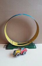 Arnold?Loop the Loop Tin track toy with clockwork motor race car. England,Japan?