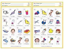 Paquete Digital para Baby Shower (Imprimelo en Casa) Juegos, Loteria...etc!!!