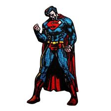 Superman Solitude Justice Patch DC Comic Superhero Man of Steel Iron-On Applique