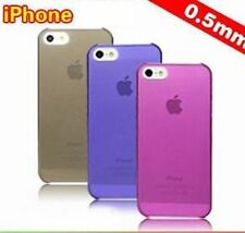 2x iPhone 5 5G 5S Ultra Thin Fashion Matte Clear Case Cover + Screen Protector