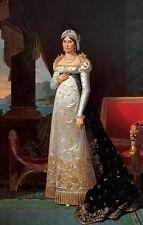 Letizia Ramolino Bonaparte Robert Lefevre Adel Mode Mutter Napoleon B A3 03176