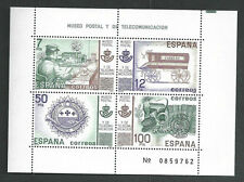 Spain Stamps - 1981 Postal & Telecommunications Museum Madrid Sheet