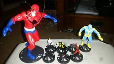 Heroclix Age of Ultron set Legacy of Hank Pym Complete all 7 figures + 8 pogs