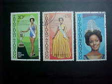 TRINIDAD & TOBAGO Scott #289-91 MISS UNIVERSE 1977 used