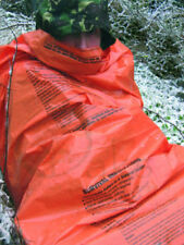 EMERGENCY SLEEPING BAG HI VIS TENT BIVI BASHA MOUNTAIN SURVIVAL HIKE RESCUE SOS