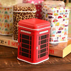 Metal Candy Trinket Tin Jewelry Iron Tea Coin Storage Square Box Case Red New