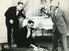 GROUCHO CHICO THE MARX BROTHERS ROOM SERVICE 1938 VINTAGE PHOTO R70